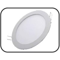 Lampu Downlight Panel LED bulat 24 Watt