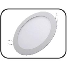 Lampu Downlight Panel  LED bulat 18 Watt