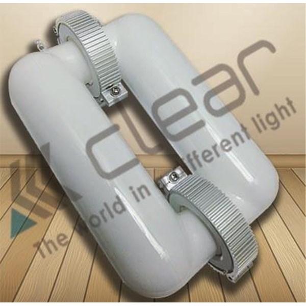 Lampu Bohlam  Induksi Kotak  60 Watt CLEAR