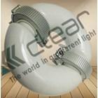 Lampu bohlam Induksi bulat 100 Watt + Ballast Clear Energy  3