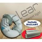 Lampu bohlam Induksi bulat 100 Watt + Ballast Clear Energy  1