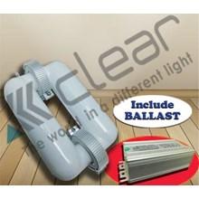 Lampu bohlam Induksi kotak 300 Watt + Ballast