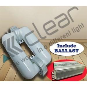 Lampu bohlam  Induksi kotak 100 Watt  &  Ballast