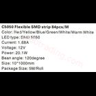 Lampu LED Strip Cardilite SMD 5050 Mata Besar  2