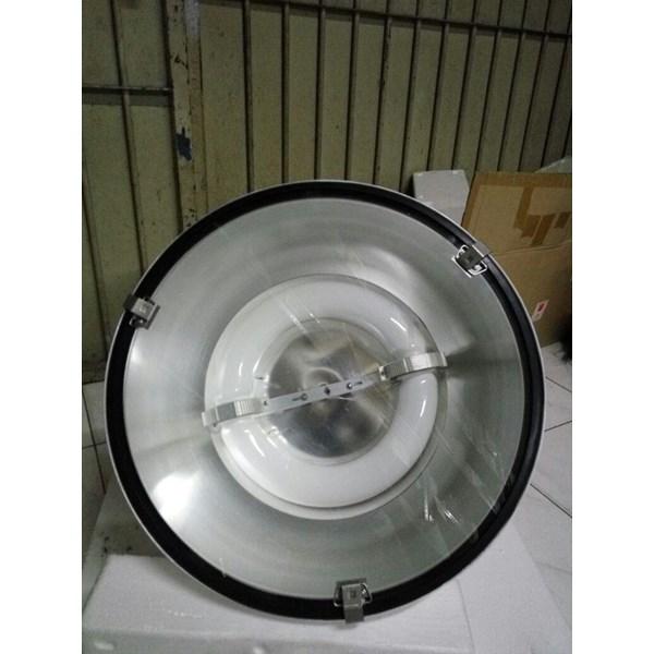 Lampu Industri Highbay Induksi- HDK 525 200 watt Coating Putih