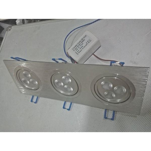 Lampu Downlight LED Spot Adjustable 9 watt Cool White
