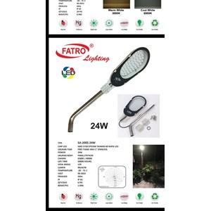Lampu Jalan PJU LED Fatro -24 Watt