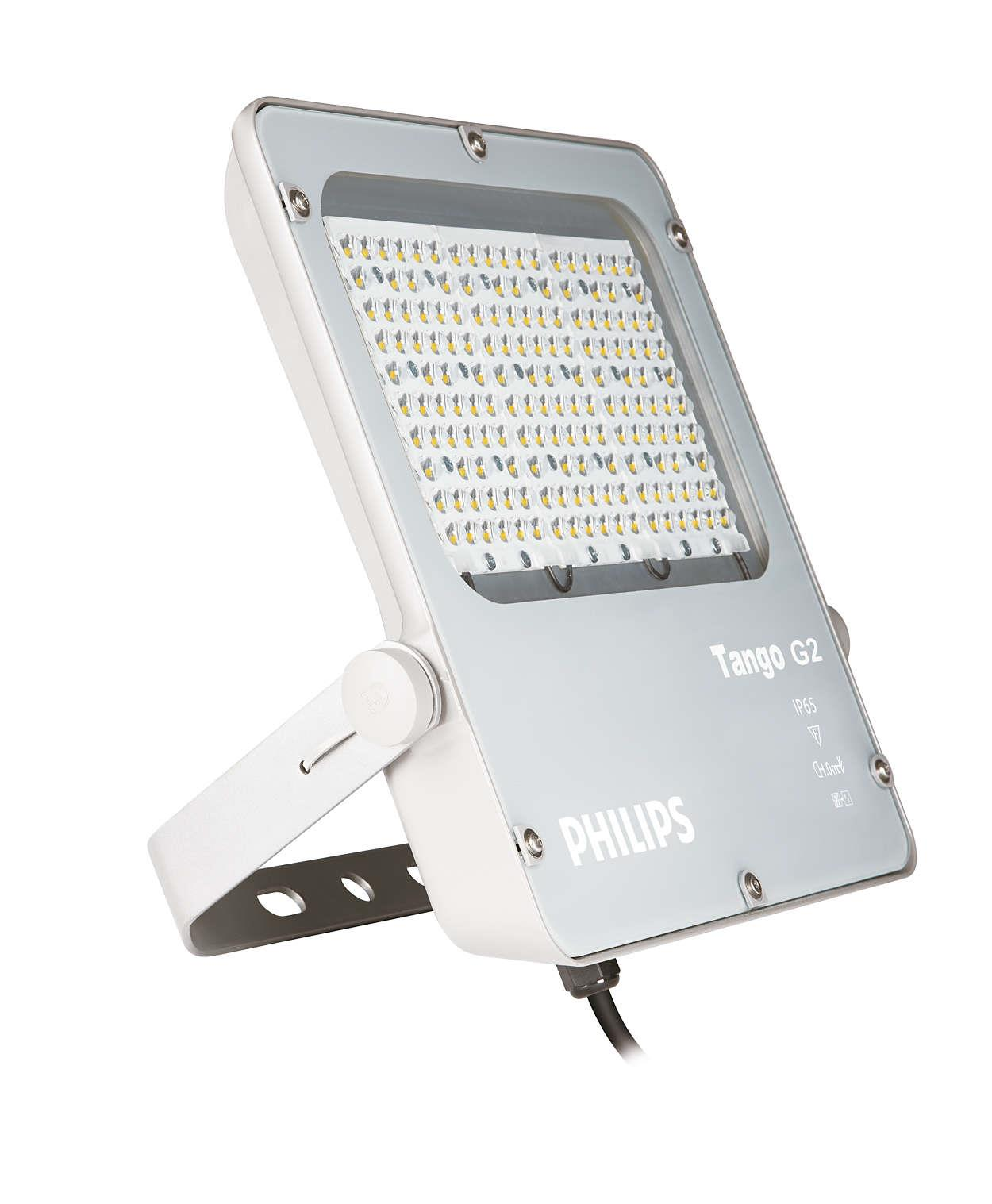 Jual Lampu Sorot LED / Flood Light Philips BVP281 -80W AC
