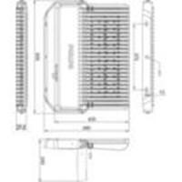 Jual Lampu Sorot LED / Flood Light Philips BVP283 -350W AC 2