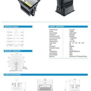 Lampu Sorot LED /Flood Light  Hinolux -1000W
