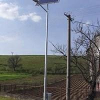 Jual Tiang Lampu PJU Solarcell 12 M Octagonal ( Single Ornament ) 2