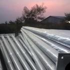 Tiang Lampu PJU Bulat Single Ornamen - 9 Meter  2