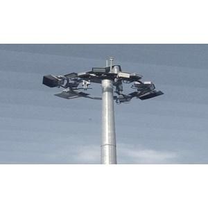Tiang Lampu High Mast -20 Meter Triangle (Manual Lowering System)