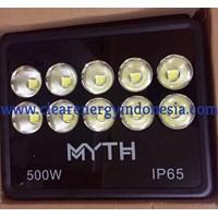 Jual Lampu Sorot LED / Flood Light MYTH Model COB - 500 W 2