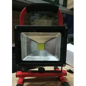 Lampu Sorot LED / Flood Light  Portable  Himawari 20 W DC