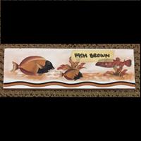 Lis Keramik Fish Brown