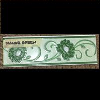 Lis Keramik Mawar Green
