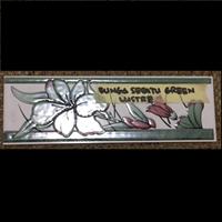 Jual Lis Keramik Bunga Sepatu Green Lustre