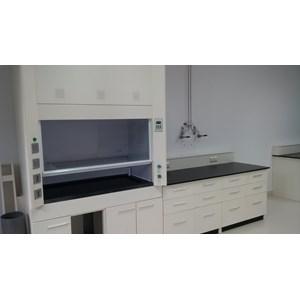 Alat Laboratorium Umum Lemari Asam Metal 1500