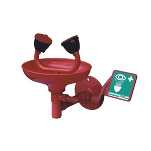 Alat Laboratorium Umum Double Outlet Eye Wash With Bowl Nds-I003
