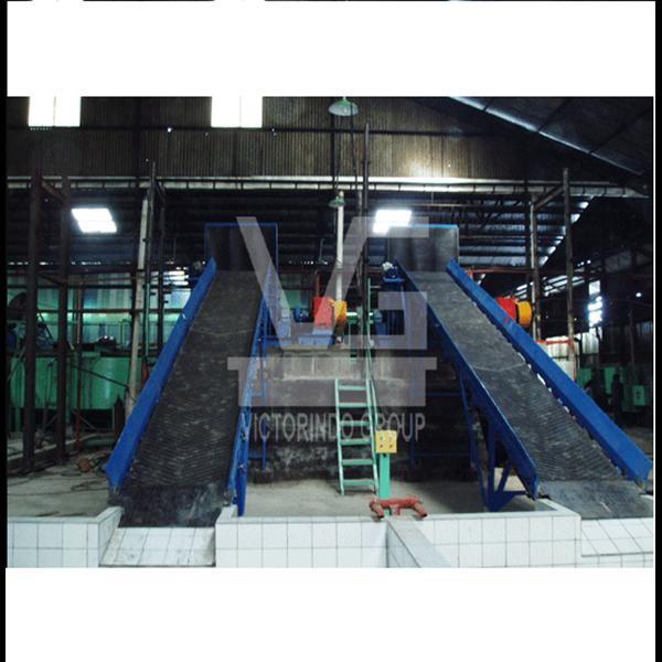 Mesin Giling Karet dan Belt Conveyor