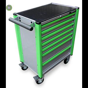 perkakas bengkel drawer tools trolley 7 dw