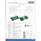 Lampu LED Exit Powercraft EX-LED-M 2