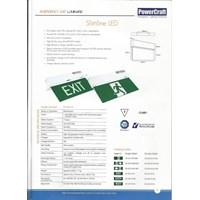Jual Lampu LED Exit Powercraft EX-LED-M 2