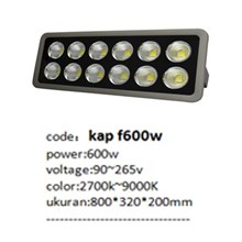 Lampu sorot LED / Flood Light Fulllux kap F -600W AC