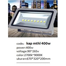 Lampu sorot LED / Flood Light Fulllux MTHL -400W AC