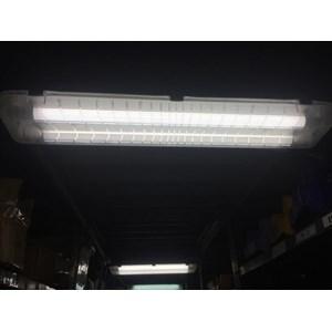 Kap Lampu PHILIPS Waterproof TCW060 2xTL5 28W