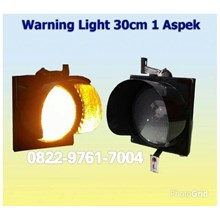 Lampu LED Traffic 2 aspek 30cm