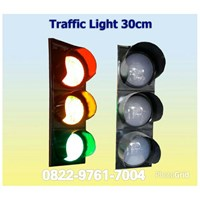 Lampu LED Traffic 3 aspek -30cm INDOTRAFIC