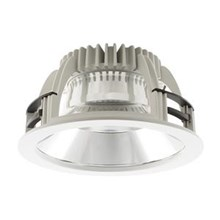 Lampu downlight LED Luceco Platinum -12W (GLOSSY)