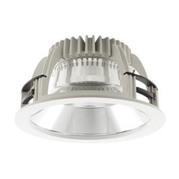 Lampu downlight LED Luceco Platinum -12W (GLOSSY)