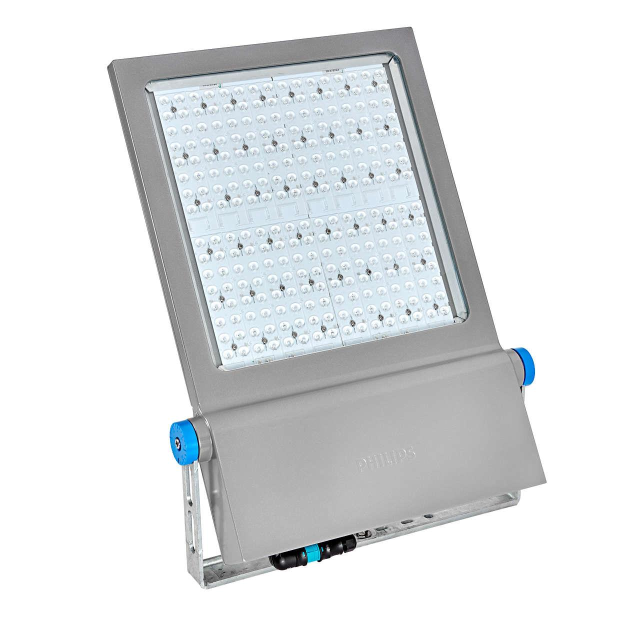 Jual Lampu Sorot LED / Flood Light Philips BVP651-50000lm