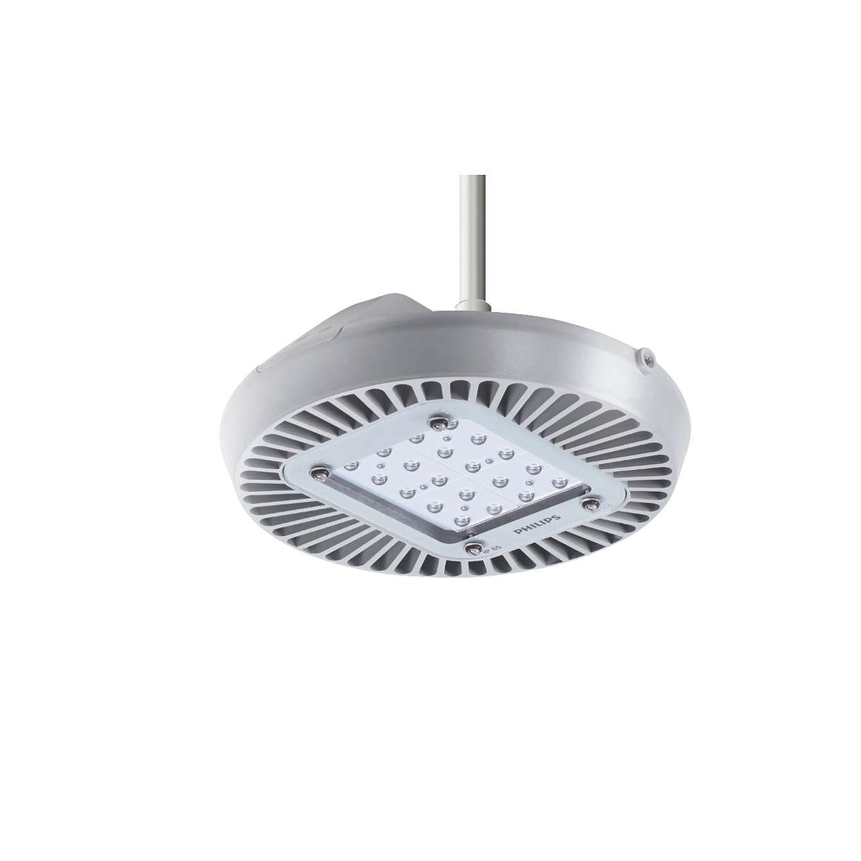Jual Lampu Industri Highbay LED Philips BY698 -110W (fixed