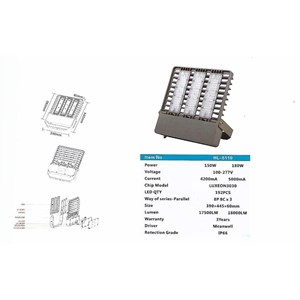 Lampu Sorot LED / Flood Light Hinolux HL5110 -150W