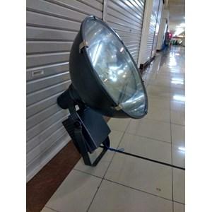 Lampu Sorot Metal Halide Zetalux High Mast HPI-T 1000W (Bulat)