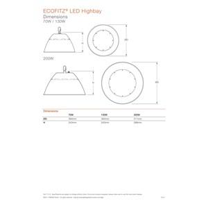 Dari Lampu Industri Highbay LED OSRAM ECOFITZ -70W 2