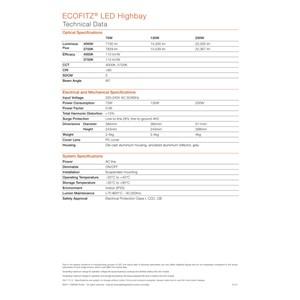Dari Lampu Industri Highbay LED OSRAM ECOFITZ -70W 3