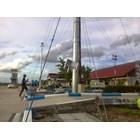 Tiang Lampu Sorot High Mast -20M Manual Triangle 2