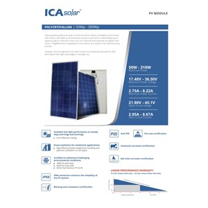 Dari Solar Panel / Solar Cell  POLY 100WP 2