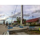Tiang Lampu Sorot High Mast -25M Manual Circle 2