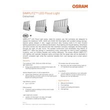 Lampu Sorot LED / Flood Light Osram Simplitz -100W AC Medium Beam
