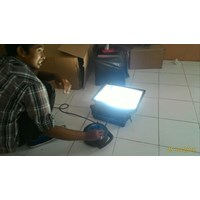 Lampu Sorot Luminaire  Induction LVD -80 Watt Cahaya Putih