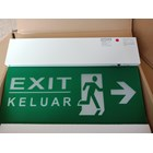 Lampu LED Exit Powercraft EX-LED-M-DR-RM 1