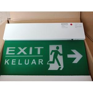 Lampu LED Exit Powercraft EX-LED-M-DR-RM