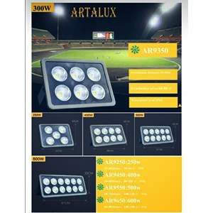 Lampu Sorot LED / Flood Light Artalux -400W