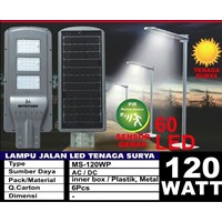 Lampu Jalan PJU LED Mitsuyama All In One -120W